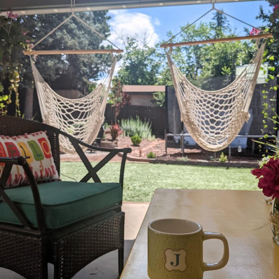 patio & coffee